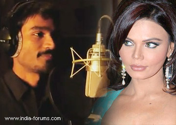 dhanush and rakhi sawant
